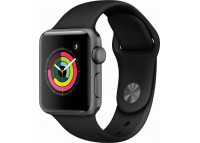Apple Watch 38mm Series 3 - Space Gray Aluminum