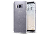 Galaxy S8 Case Liquid Crystal Glitter