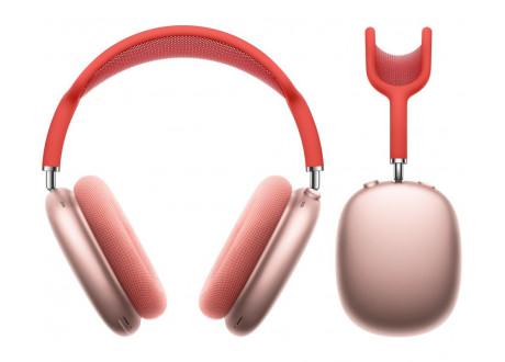 Audifonos Over-Ear Apple Airpods Max - Rosa con Correa Roja