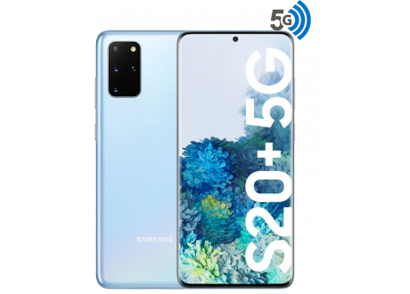 Samsung Galaxy S20 Plus 5G 128GB White, Nuevo, Sellado SNAPDRAGON