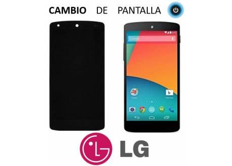 Pantalla LG Nexus 5, Cambio de Pantalla