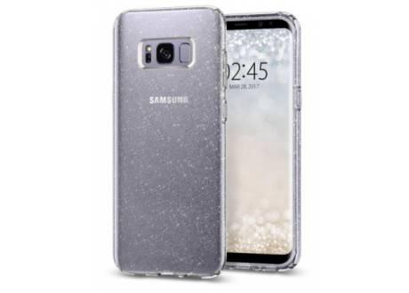 Galaxy S8 Case Liquid Crystal Glitter