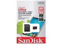 Memoria MicroSD 128GB Clase 10 UHS-I SanDisk Ultra
