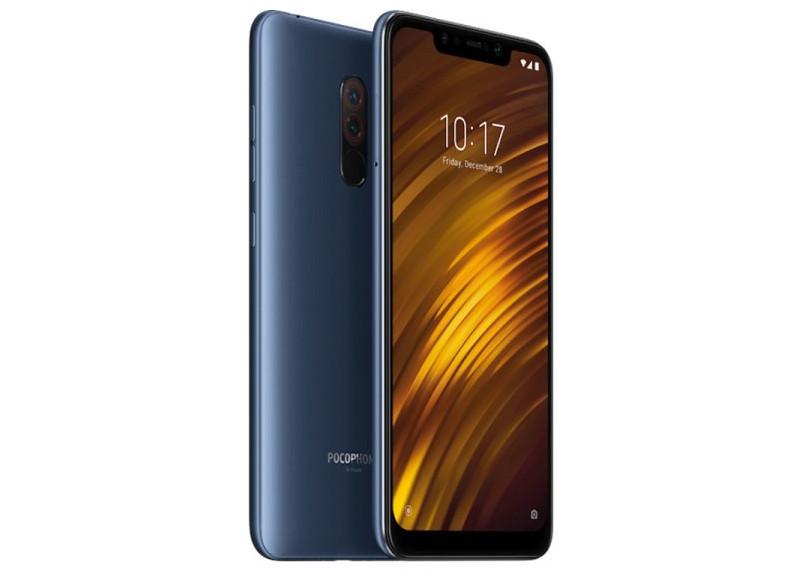 Xiaomi Pocophone F1 64GB, 6GB de RAM, Global - Azúl