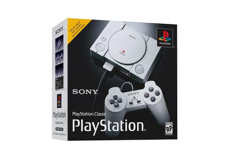 PlayStation Classic Classic Edition, Consola de VideoJuegos