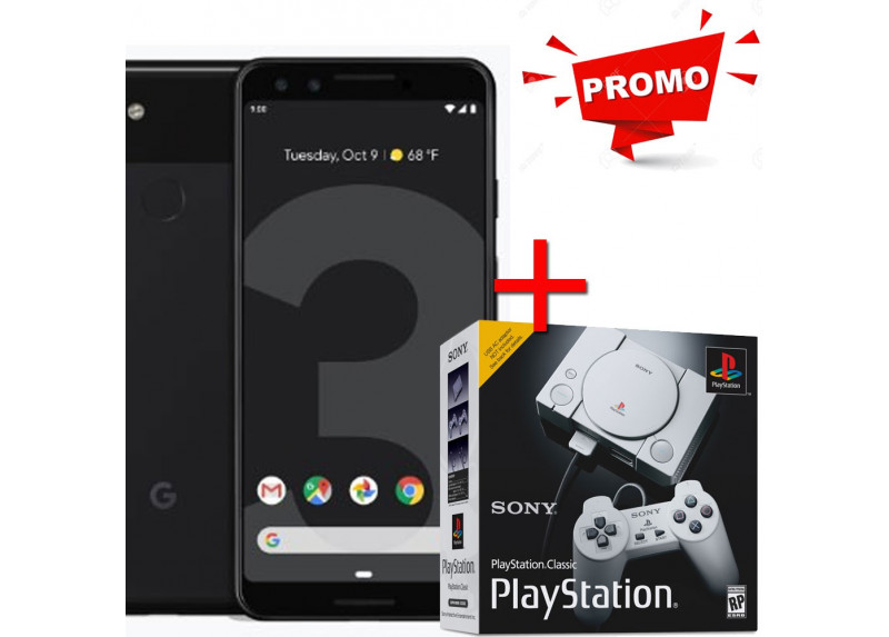 Pack Google Pixel 3 64GB, mas Consola Sony de Regalo