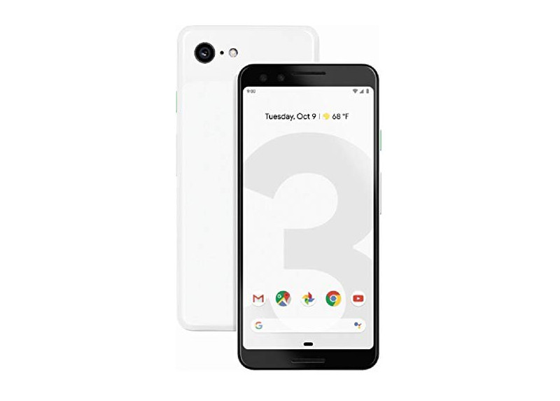 Google Pixel 3 64GB Internos, 4GB de RAM, Snapdragon 845 - Negro
