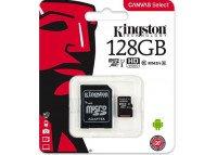 Memoria 128GB MicroSDXC Clase 10 Kingstone