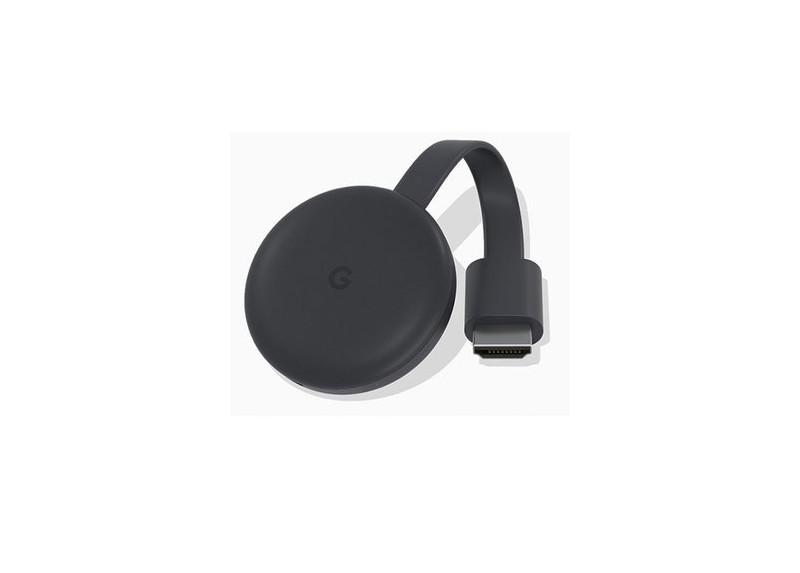 Google Chromecast 3 Tercera Generacion Negro