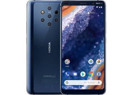 Nuevo Nokia 9 PureView 128GB, Dual - Negro