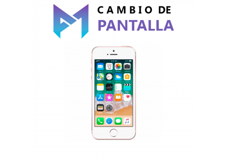 Cambio de Pantalla iPhone 5SE