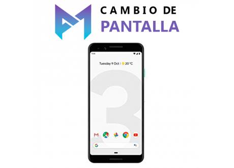 Cambio de Pantalla Google Pixel 3