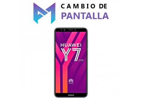 Cambio de Pantalla Huawei Y7 2018