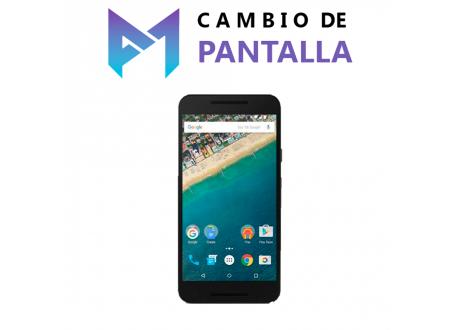 Cambio de Pantalla Google Nexus 5x