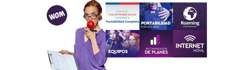 Equipos Compatibles con WOM Chile